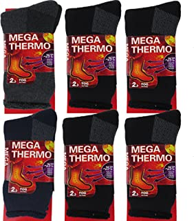 DEBRA WEITZNER Mens Thermal Socks – Insulated Heated Socks – Boot Socks For Extreme Temperatures