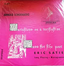 Variations on a Recitative / Mass for the Poor