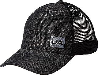 قبعة بليتزنغ تراكر 3.0 للرجال من اندر ارمور، لون رمادي (جت جراي/ اسود/ ستيل)، مقاس موحد