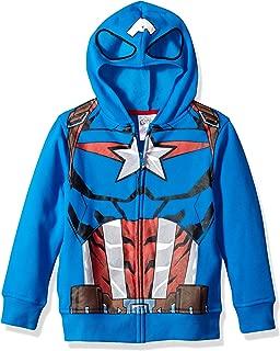 Boys' Big Captain America Costume Hoodie
