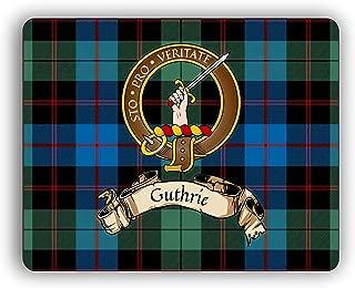 Scottish Clan Guthrie Tartan Crest Computer Mouse Pad