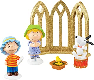 Department 56 Peanuts Christmas Nativity Set
