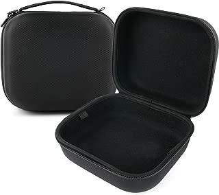 DURAGADGET Matte Black Tough EVA Storage Case with Carry Handle - Suitable for Creative Sound Blaster Evo Wireless| Evo ZxR| Evo| Jam| Tactic3D Rage Wireless V2.0| Sound BlasterX H5 & H7