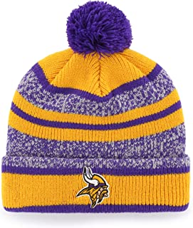 0111879fe OTS NFL Adult Men s NFL Huset Cuff Knit Cap with Pom