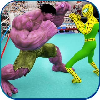 Monster Superhero Ring Battle