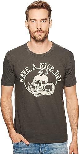 Lucky Brand - Nice Day Skull Tee