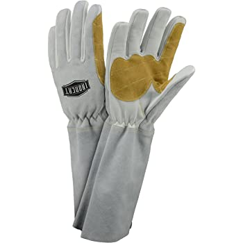 Large 12 Pairs West Chester IRONCAT 6143 Premium Grain Goatskin Leather Palm Split Cowhide Leather Back MIG Welding Gloves