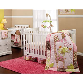 Carters Jungle Collection Fitted Crib Sheet