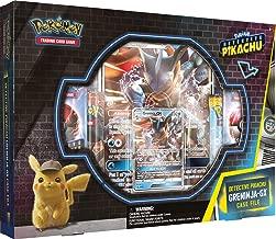 Detective Pikachu Greninja-Gx Case File: Pokemon TCG: 2 Greninja Foil Trading Cards + 7 Booster Pack Multicolor
