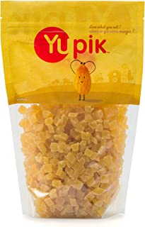 Yupik Sulfite Free Dried Fruits, Diced Pineapple, 2.2lb