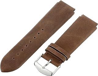 Philip Stein 3-CVCH 22mm Leather Calfskin Brown Watch Strap