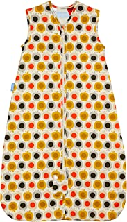 The Gro Company Grobag 0.5 Tog Apple Orla Kiely Travel Sleeping Bag for 6-18 Months Baby