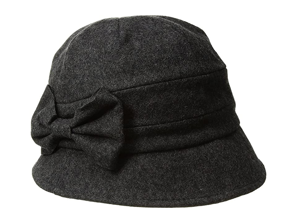 Women's Vintage Hats | Old Fashioned Hats | Retro Hats Betmar Pippa Heather Grey Caps $40.00 AT vintagedancer.com