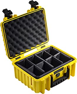 Amazon Com B W International 3000 Y Rpd 3000 Outdoor Case With Rpd Insert Durable Type 3000 Yellow Camera Photo