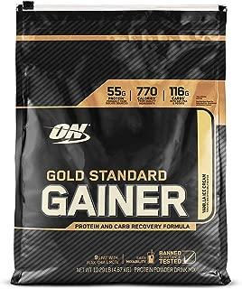 OPTIMUM NUTRITION Gold Standard Gainer, Vanilla Ice Cream, 10 Pound