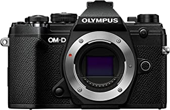 Olympus OM-D E-M5 Mark III 20.4 MP Mirrorless Micro Four Thirds System Interchangeable Lens Camera (Body Only, Black) (Black)