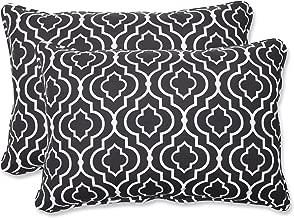 Pillow Perfect Outdoor Starlet Night Over-Sized Rectangular Throw Pillow, Set of 2
