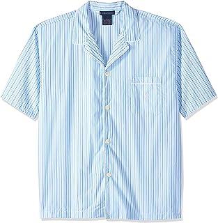 POLO RALPH LAUREN Men's P757IY Pajama Top for Men, Cotton, Blue