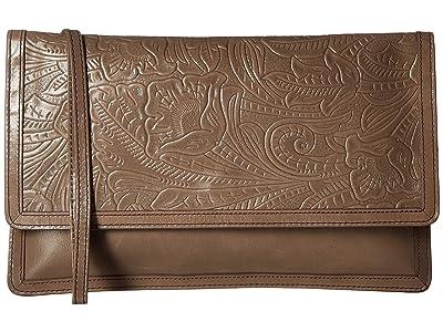 Hobo Crest (Embossed Shadow) Clutch Handbags