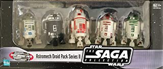 EE Exclusive Star Wars Astromech Droids Pack of 5 - Saga Collection Series 2