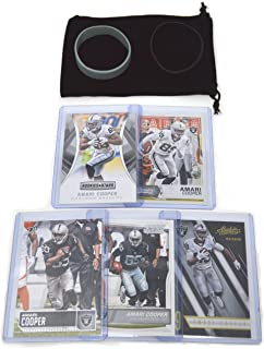 Amari Cooper Football Cards Assorted (5) Bundle - Oakland Raiders Trading Cards