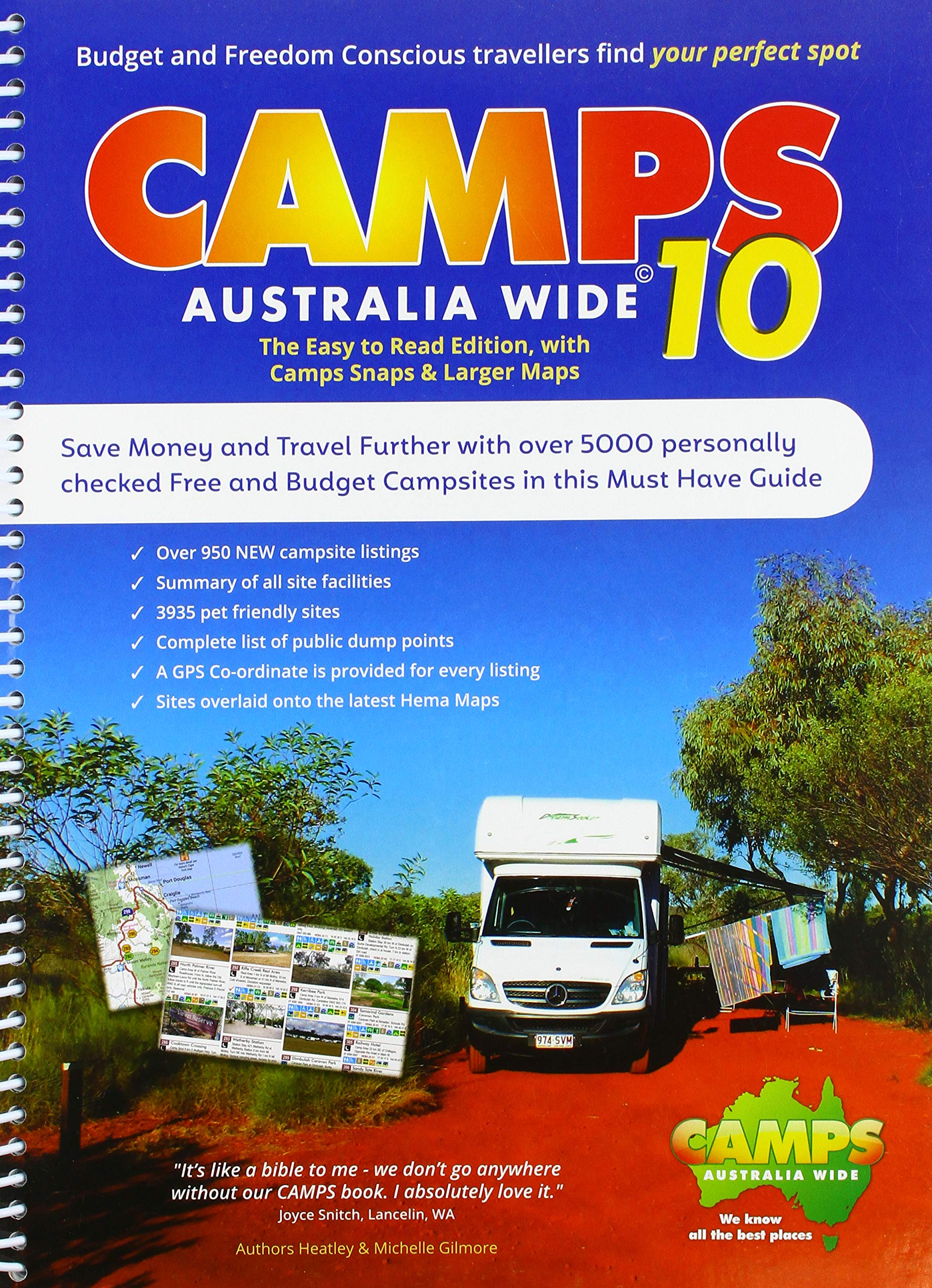Download Camps Australia Wide 10 B4: Easy to Read with Photos