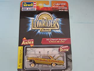 63 Chevy Impala Chica De Oro Lowrider Die-cast By Revell--1/64 Scale