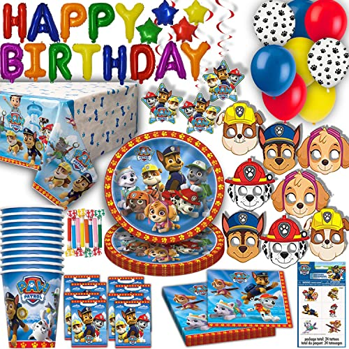 HeroFiber Paw Patrol Party For 16