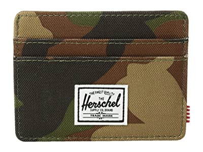 Herschel Supply Co. Charlie RFID (Woodland Camo) Wallet Handbags