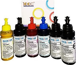 INKBANK Sublimation Ink 600ml for Inkjet Printers C68 C88 WF7610 WF7010 WF7710 WF7110 WF3640 WF3610 WF3540 Heat Press Transfer on Mugs, Plates, Shirts, Phone Cases, Mouse Pad