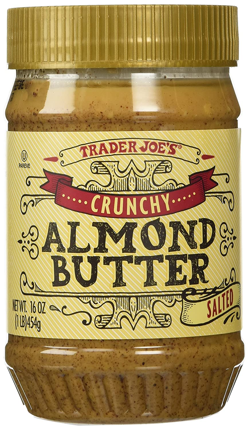 Trader Joes Crunchy Almond free 2 Pack Butter Salted Max 40% OFF