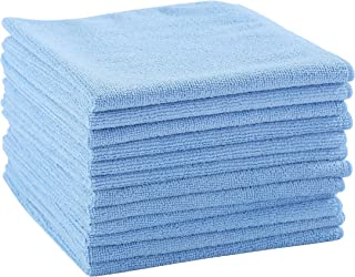 DRI Professional Extra-Thick Microfiber Cleaning Cloth 12 Pack Blue
