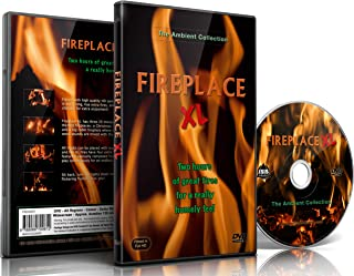 Fire Dvd – Fireplace XL – Extra Long Open Hearth Fires with Burning Wood Sounds