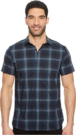 Exploded Plaid Woven Shirt