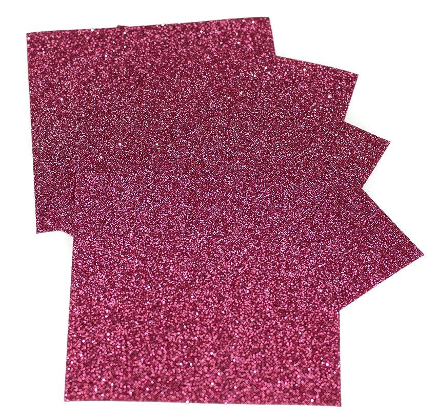 Expressions Vinyl - Blush - 9in. x 12in. 5-pack Siser Glitter Iron-on Heat Transfer Vinyl Sheets