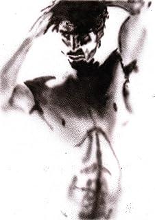 Pintura acrílica sobre papel de pintura blanco/Desnudo masculino / 100% pintado a mano en blanco y negro/Venta de arte gay...