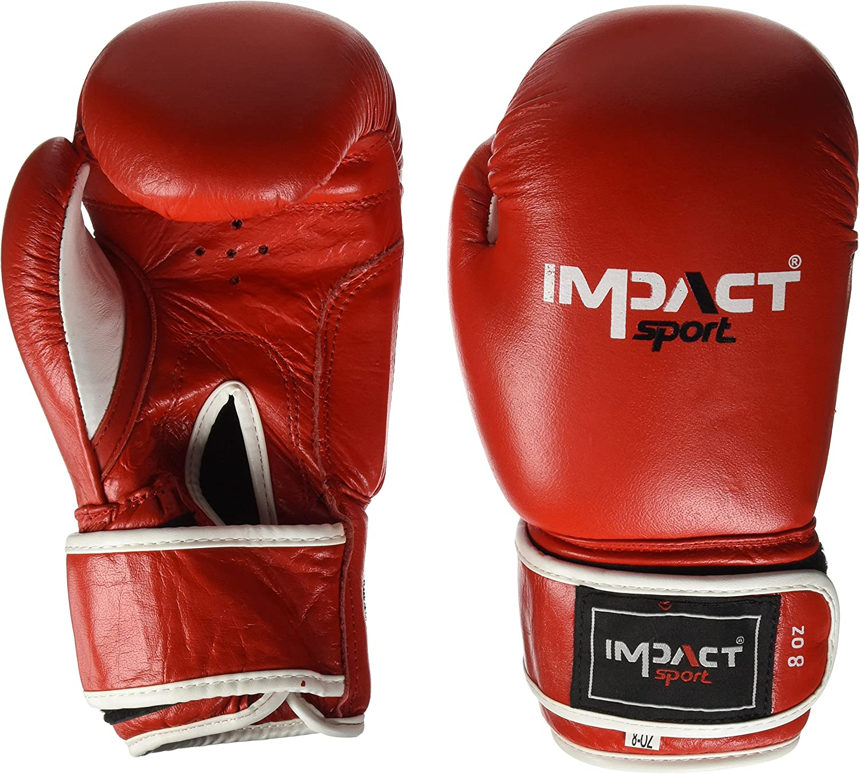 Auswirkungen Sport IB022 rot rot rot 8oz-Handschuhe Boxing Unisex Erwachsene, Rot B0767LJ3JD  Hat einen langen Ruf 477c6e