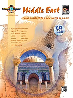 Guitar Atlas: Middle East (Book & CD)