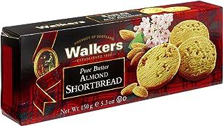 Walkers Shortbread 纸盒装杏仁小酥饼(3件装)
