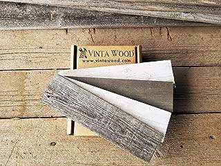 Vinta Wood Reclaimed Barn Wood Peel and Stick Sample box