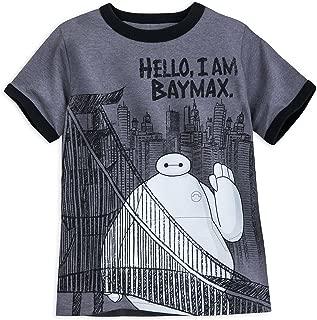 Baymax Ringer T-Shirt for Boys Multi XS