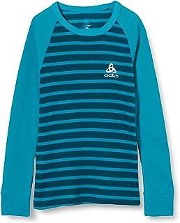Odlo Bl Top Crew Neck L/S Active Warm Kids Camiseta Unisex niños