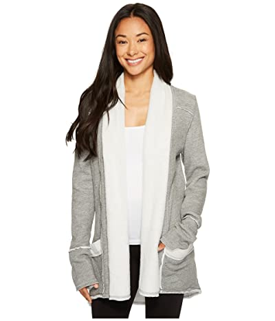 Hard Tail Slouchy Cardigan (Charcoal Heather) Women
