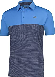 Three Sixty Six Quick Dry Golf Shirts for Men - Moisture Wicking Short-Sleeve Casual Polo Shirt