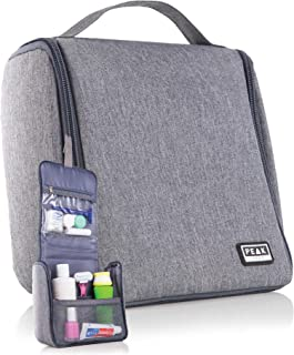 Peak Gear Compact Toiletry Bag - Great Organizer for Travel, Office or Gym