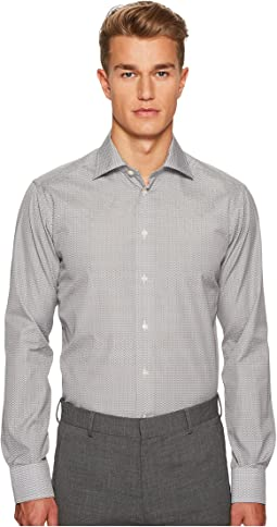 Eton - Slim Fit Micro Bulldog Shirt