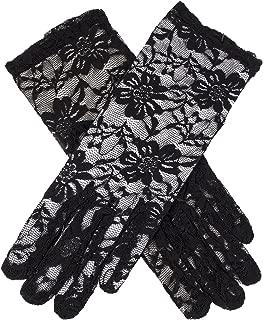 Dents Women's Wrist Length Lace Evening Gloves