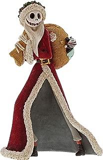 Enesco The Nightmare Before Christmas Santa Jack Stone Resin Figurine