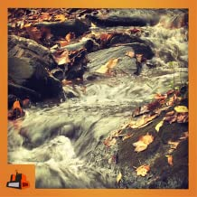 Autumnfall - Enjoy the auntumn with beautiful waterfall