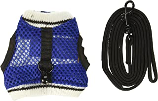 Ware Manufacturing Nylon Walk-N-Vest Pet Harness and Leash for Small Pets